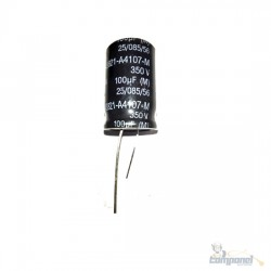 Capacitor Eletrolítico 100 x 350v
